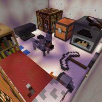 Карта Комната для Minecraft PE