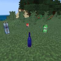 Мод на бомжа для Minecraft PE