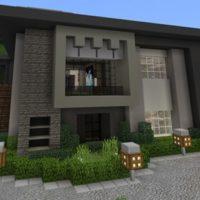 Карта Механический дом для Minecraft PE