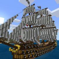 Карты на корабли для Minecraft PE