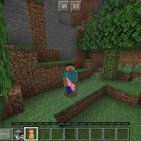 Мод на перчатку бесконечности для Minecraft PE