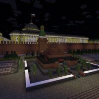 Карта Москвы для Minecraft PE