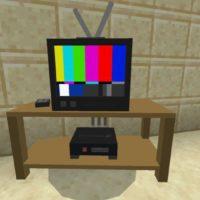 Мод на телевизор для Minecraft PE