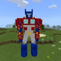 Мод на Трансформеров для Minecraft PE