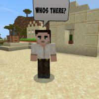 Мод на жителей для Minecraft PE