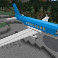 Мод на самолёт для Minecraft PE