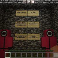 Карта на Игру в Кальмара для Minecraft PE